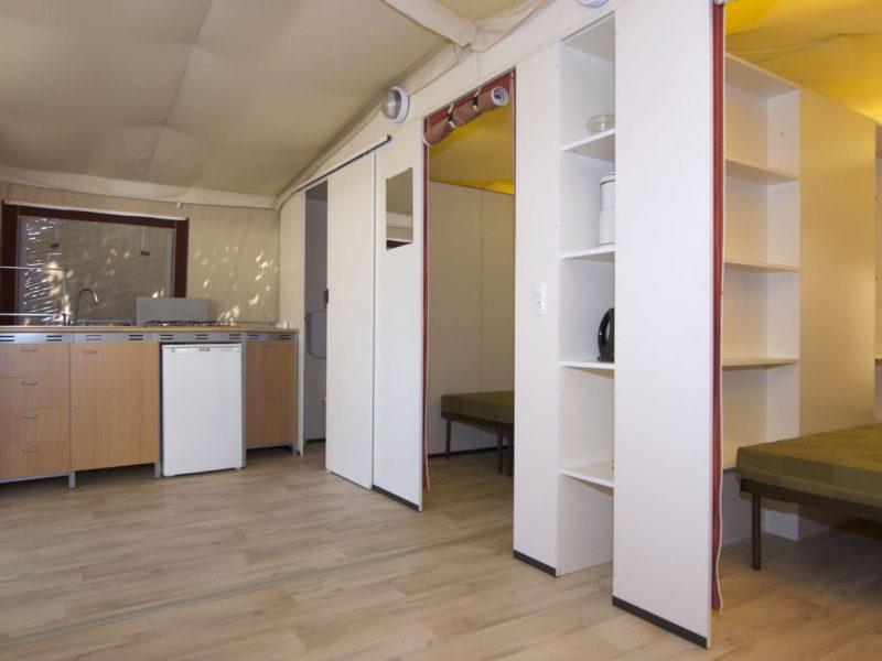 Camp2Relax Lodgetent keuken