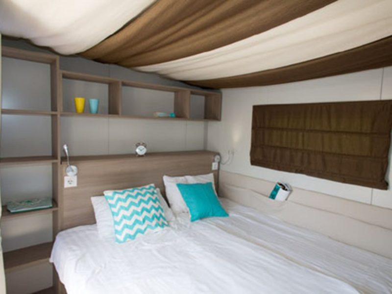 Hybridlodge Clever slaapkamer - glamping