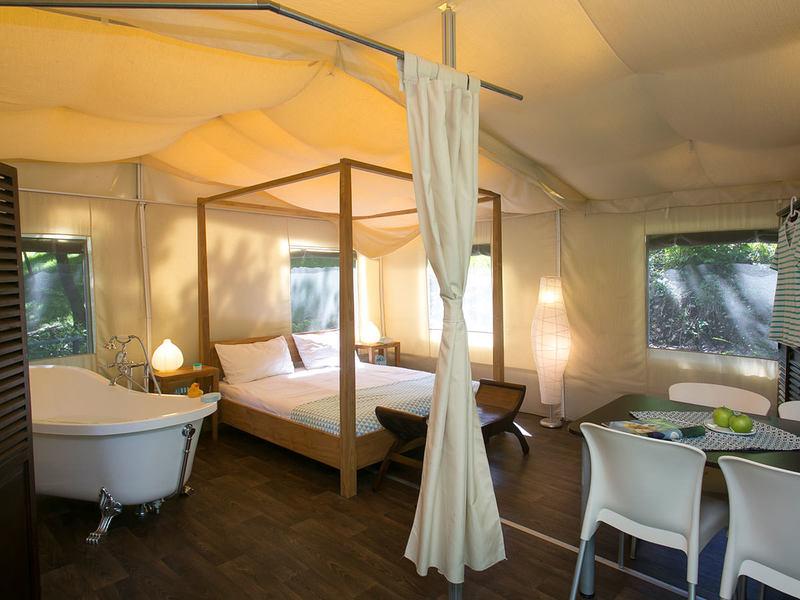kamperen luxe