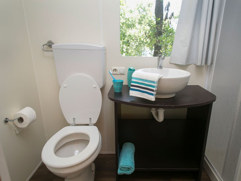 badkamer kampeeraccommodatie