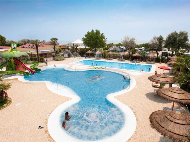 Vela Blu zwembad overzichtsfoto