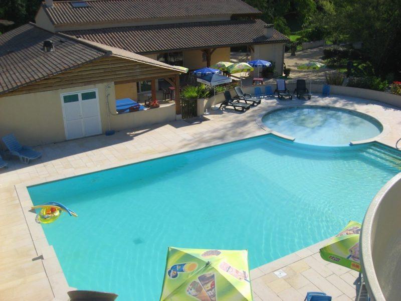 Zwembad - Domaine du Moulin des Sandaux, glamping.nl