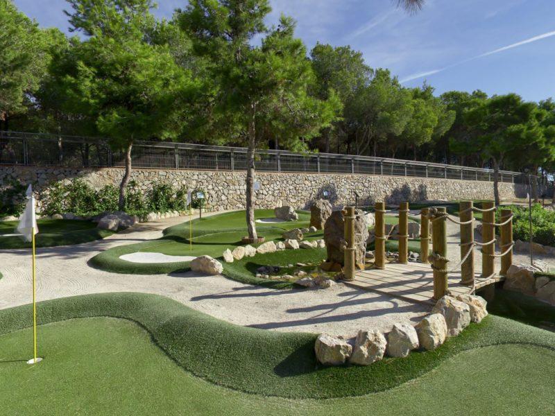 Vilanova Park minigolf