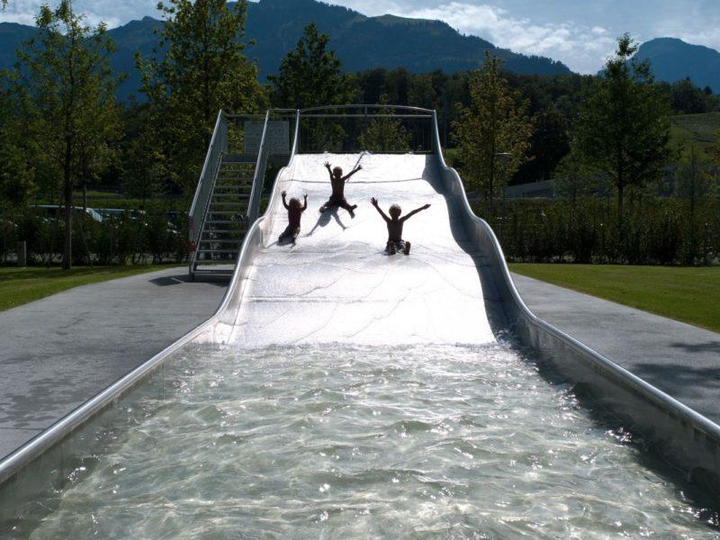 waterglijbaan Seefeld Park Sarnen