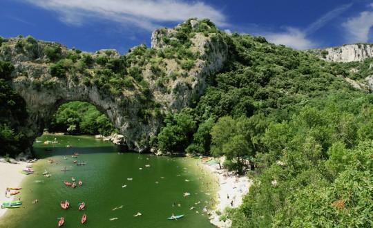 3x zien in de Ardèche