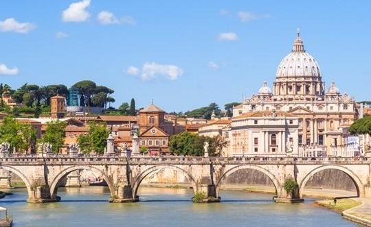 Kamperen in de buurt van Rome