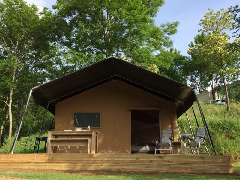 Safaritent - L'Ardechois, glamping.nl