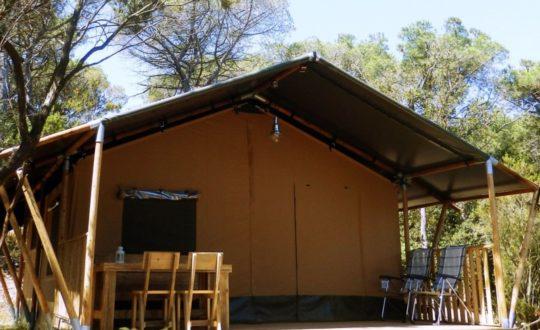 Tendi Safaritent met badkamer