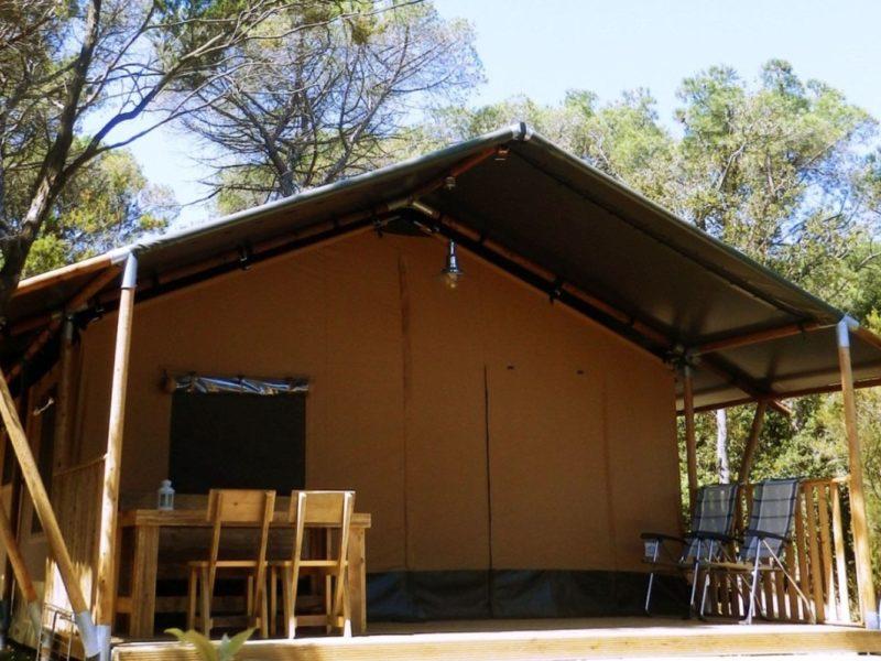 Tendi Safaritent Comfort terras glamping