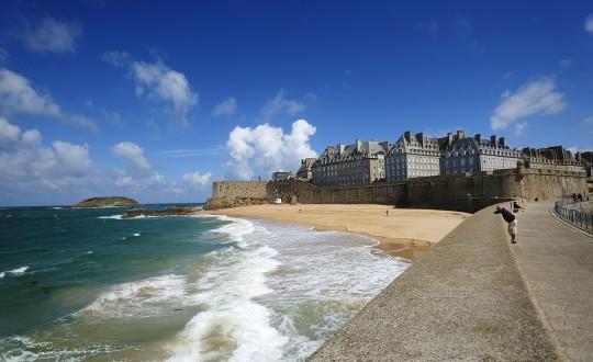 Spectaculaire getijden in Bretagne in 2016