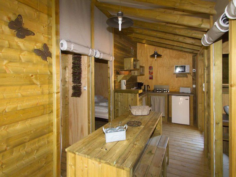 keuken explorer lodge glamping