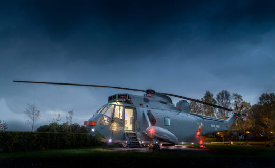 Helicopter Glamping - Glamping.nl