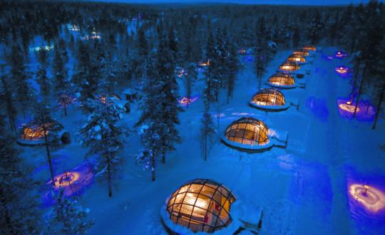 Kakslauttanen Arctic Resort - Glamping.nl