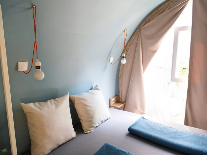 cocosuite slaapkamer