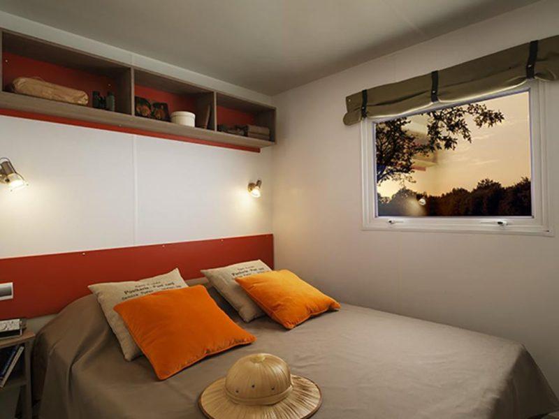 lodgetent seqoia slaapkamer