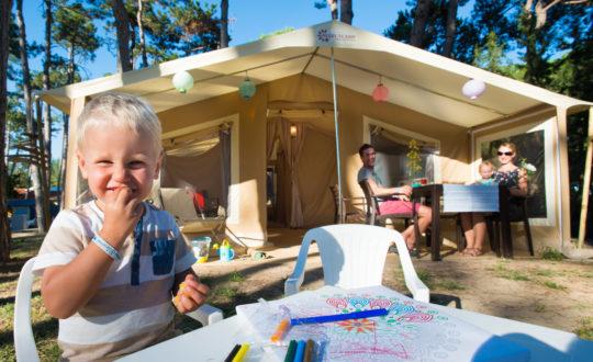 Glamperen met kinderen: avontuur zonder stress