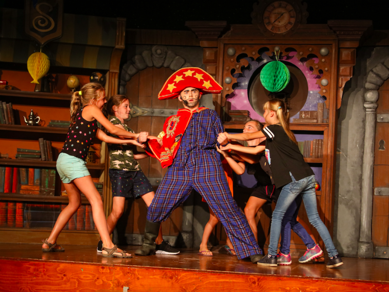 Theatershow Sprookjescamping - Glamping