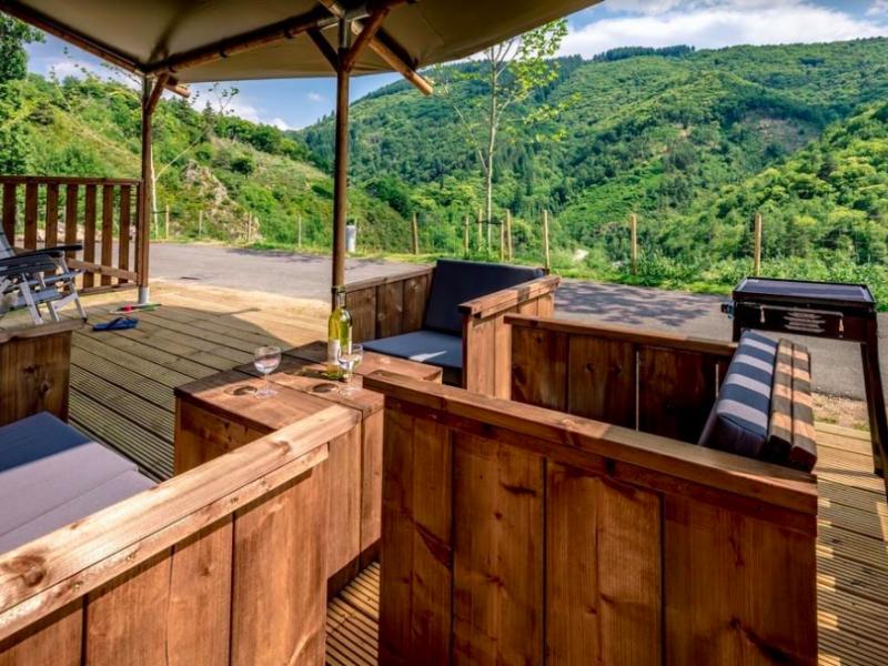 Tendi safaritent veranda