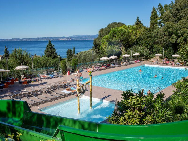 La Rocca - Glamping - zwembad