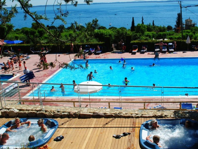La Rocca - Glamping - zwembad met jacuzzi