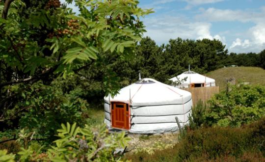 Texel Yurts, het beste van twee werelden