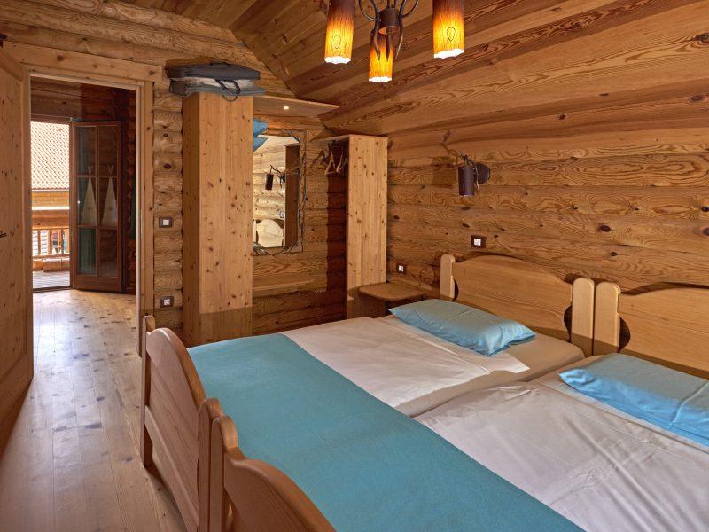 Slaapkamer ecochalet - Glamping Kamp Koren