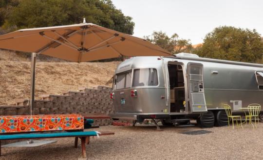 Bijzonder glamping: kamperen in een Airstream