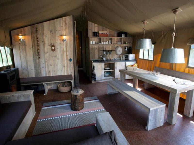 Safaritent Coldenhove - keuken