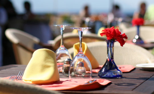 Top 3 luxe restaurants in Saint-Tropez