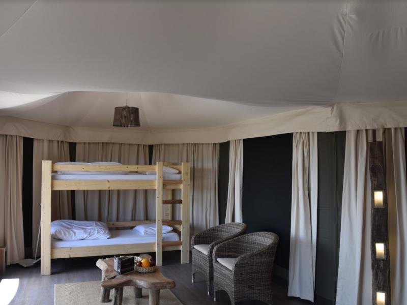 Adventure Valley Durbuy slaapkamer