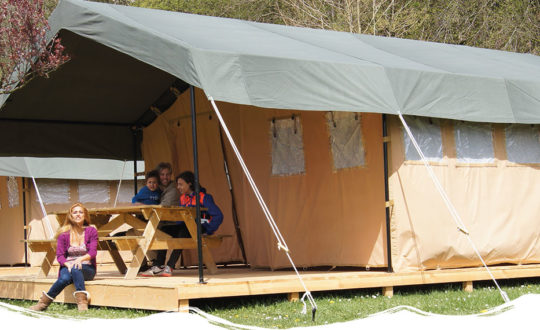 Outdoor Camping Barvaux - Glamping.nl