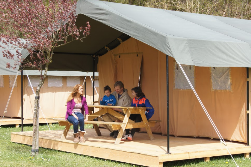 outdoor camping barvaux safaritent