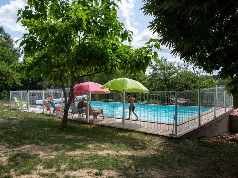 Zwembad La Bucherie - Glamping