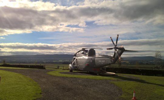 Niets is te gek: Glamping in een helikopter
