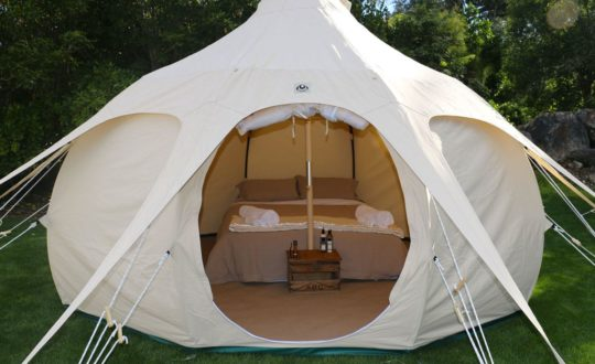 Hoe leuk!? Inflatable Glamping tent