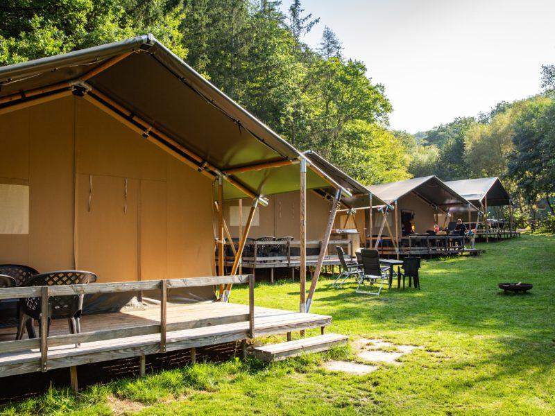 Safaritent buitenkant - Bockenauer Schweiz