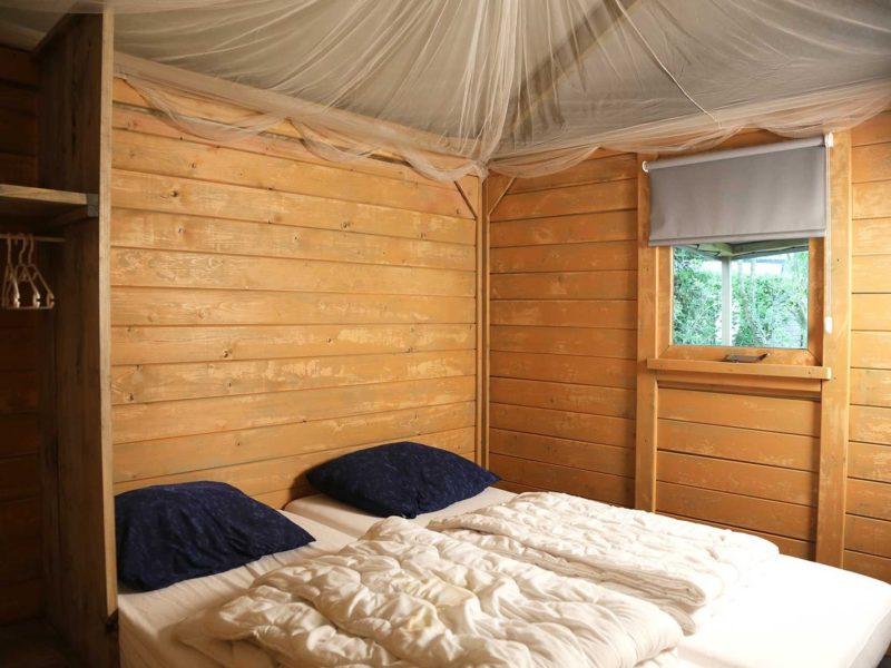 sprookjescamping glamplodge slaapkamer