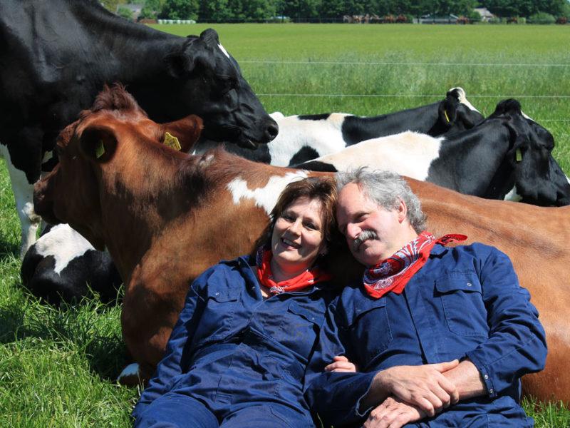 FarmCamps Brandenhorst Boer Eddy en boerin AnneMarie
