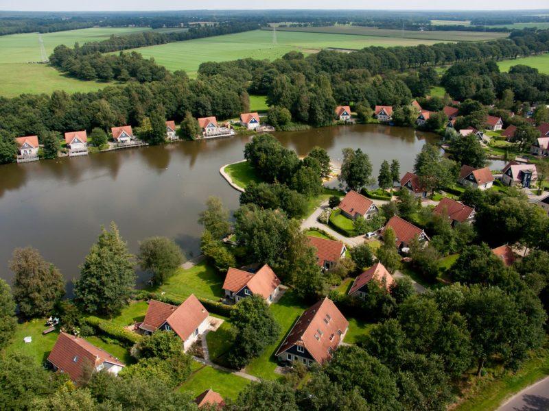 Overzichtsfoto vakantiepark Timmerholt