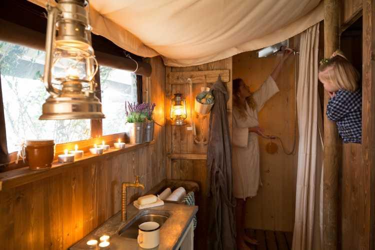 Landgoed Tongeren ensuite badkamer HeerenBoer Tent