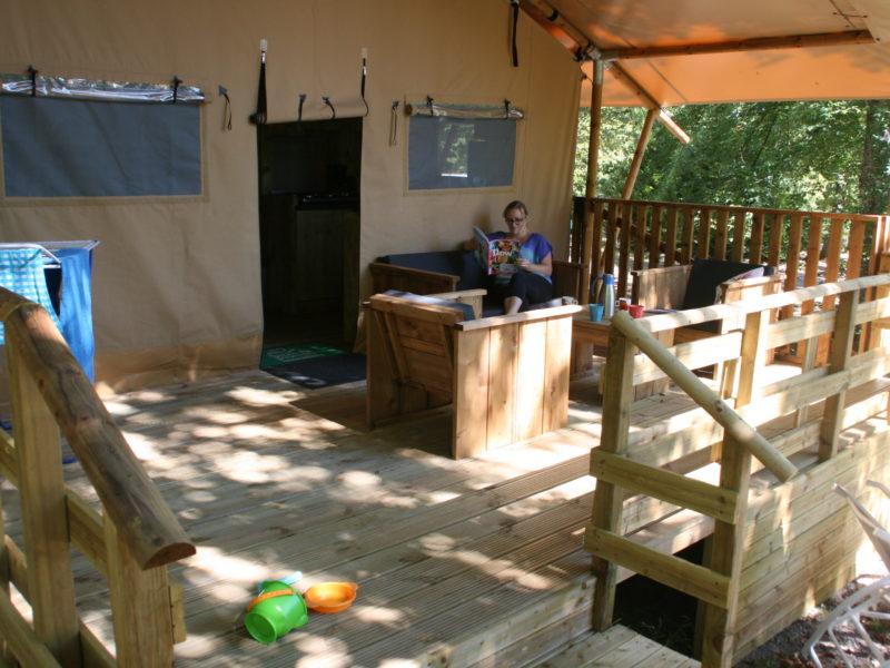 Au Bois Joli - Veranda Safaritent