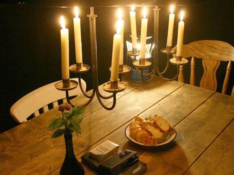 Wallis Collection, Diner bij kaarslicht