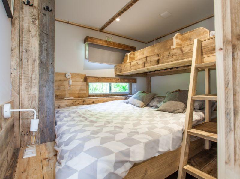 Slaapkamer accommodatie - Stoerbuiten, glamping.nl