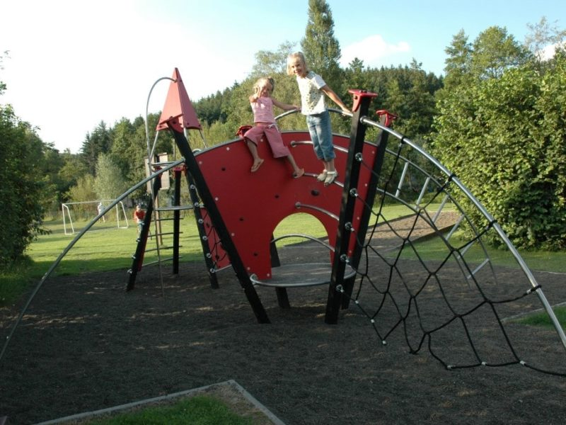 Camping Val d'Or in Luxemburg - speeltuin