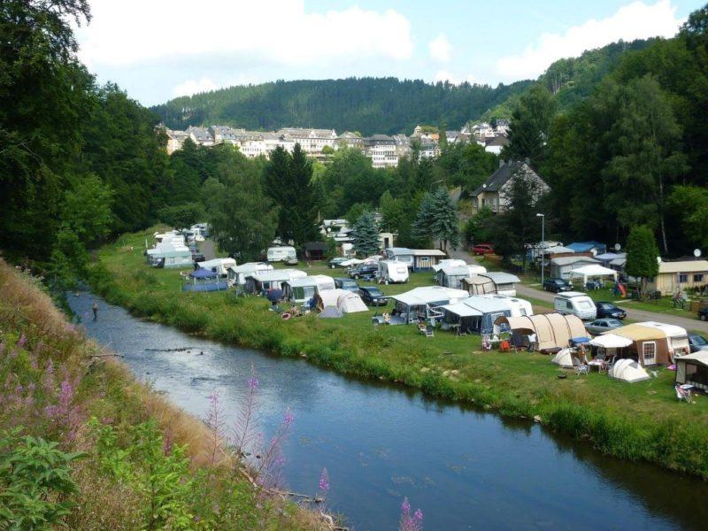 Camping in de Eifel in Duitsland Camp Kyllburg