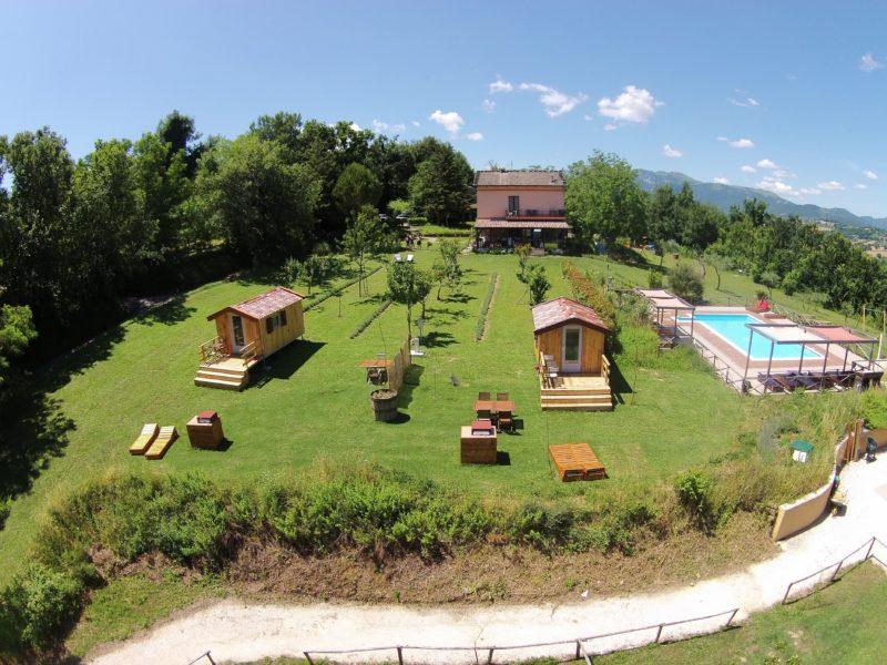 Villa Ti Amo luchtfoto