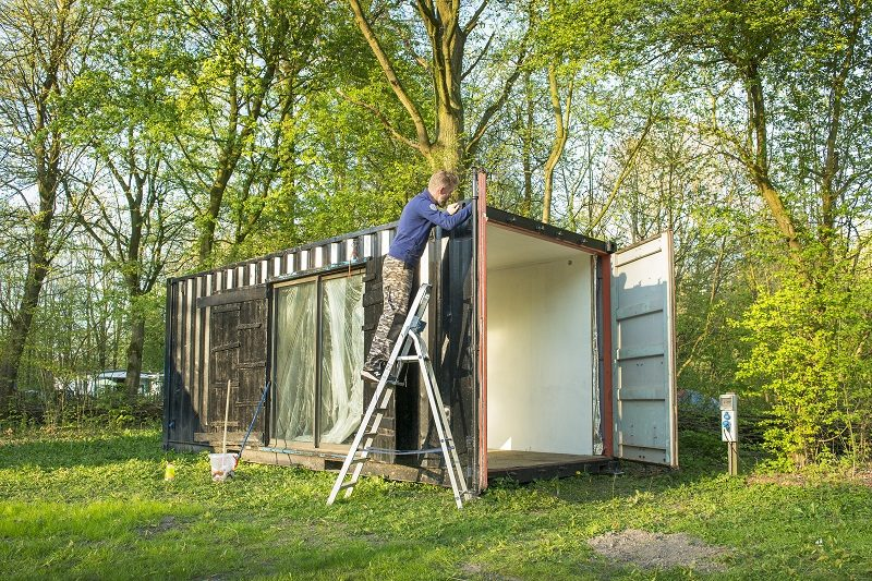 Buytenplaets Suydersee, Glamping in Nederland