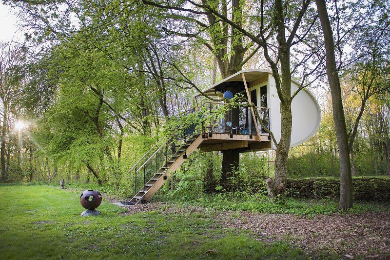 Slapen in een Boomhut in Nederland