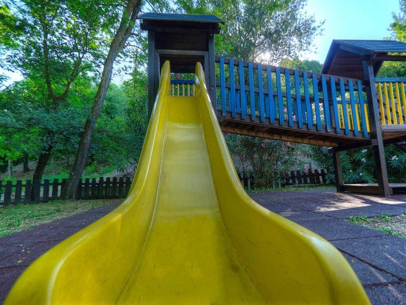 Flaminio VIllage Bungalow park - glamping - speeltuin