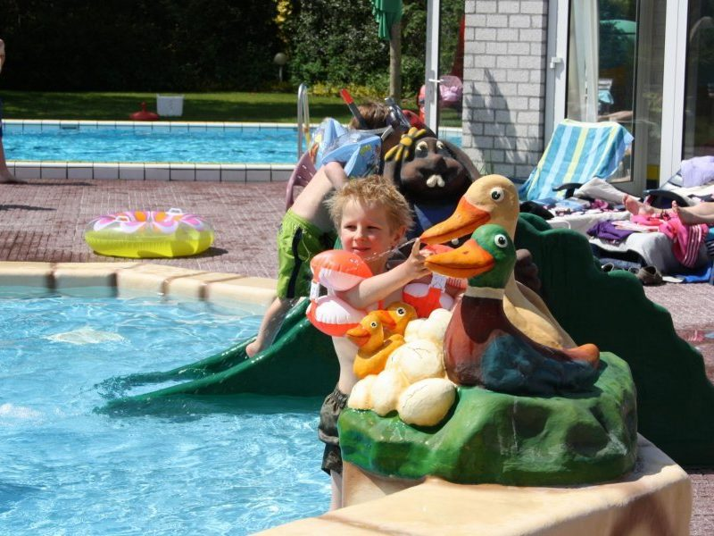 Glamping - de Haeghehorst - buitenzwembad kinderzwembad